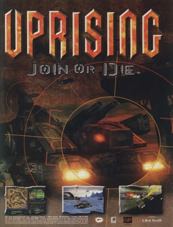 Uprising: Join Or Die Poster