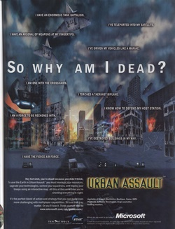 Urban Assault Poster