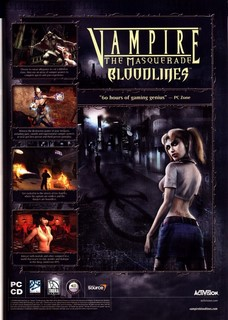 Vampire: The Masquerade - Bloodlines Poster