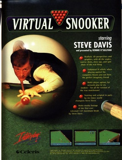 Virtual Snooker Poster