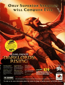 Warlords III: Darklords Rising Poster