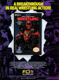 World Championship Wrestling Poster