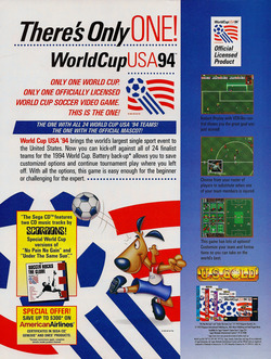 World Cup USA 94 Poster