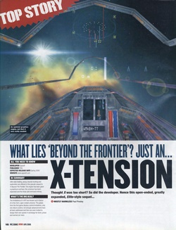 X-Tension Poster