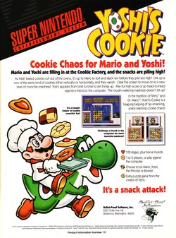 Yoshi's Cookie Poster