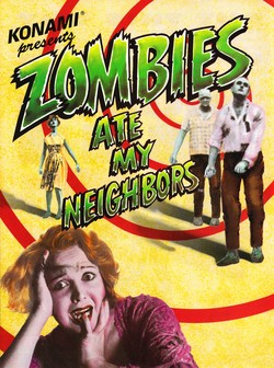 Zombies Ate My Neighbors Poster