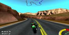 Redline Racer: Ultimate Challenge Dreamcast Screenshot