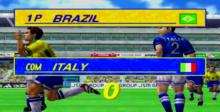 Virtua Striker 2 Dreamcast Screenshot