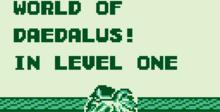 Daedalian Opus Gameboy Screenshot
