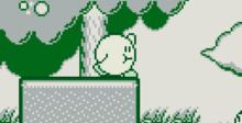 Kirby's Dream Land Gameboy Screenshot