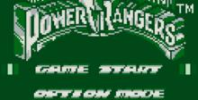 Mighty Morphin Power Rangers: The Movie Gameboy Screenshot