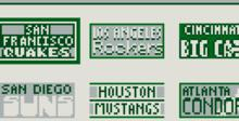 MVP Baseball Gameboy Screenshot