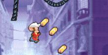 An American Tail: Fievel's Gold Rush GBA Screenshot