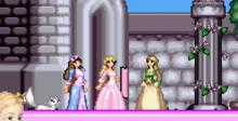 Barbie as the Princess and the Pauper GBA Screenshot