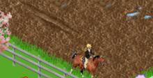 Barbie Horse Adventures GBA Screenshot