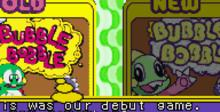 Bubble Bobble Old & New GBA Screenshot