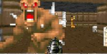 Doom GBA Screenshot