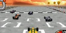 Downforce GBA Screenshot
