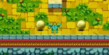Frogger's Adventures: Temple of the Frog GBA Screenshot