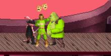Shrek Super Slam GBA Screenshot