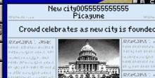 SimCity 2000 GBA Screenshot