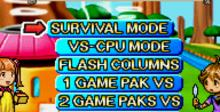 Sonic Pinball Party + Columns Crown GBA Screenshot