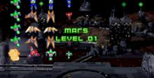 Space Invaders GBA Screenshot