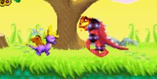 Spyro Orange: The Cortex Conspiracy GBA Screenshot