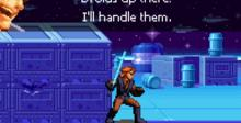 Star Wars Episode III: Revenge of the Sith GBA Screenshot