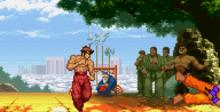 Street Fighter Alpha 3 GBA Screenshot