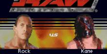 WWE Road to WrestleMania X8 GBA Screenshot