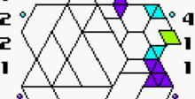 Hexcite: The Shapes of Victory GBC Screenshot
