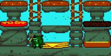 The Flintstones: Burgertime in Bedrock GBC Screenshot