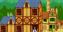 Beauty and the Beast - Belle's Quest Genesis Screenshot