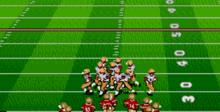 Bill Walsh College Football 95 Genesis Screenshot