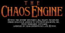 Chaos Engine splash screen