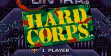 Contra - Hard Corps main menu