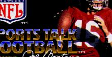 Joe Montana Sports Talk Football Genesis Screenshot