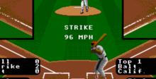 RBI Baseball 3 Genesis Screenshot