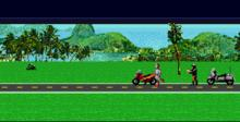 Road Rash 3 Genesis Screenshot