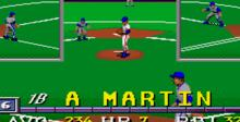 Roger Clements MVP Baseball Genesis Screenshot