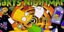 The Simpsons: Bart's Nightmare Genesis Screenshot