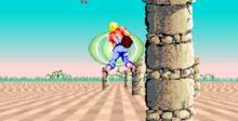Space Harrier 32X Genesis Screenshot
