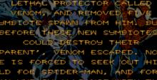 Spider-Man and Venom in Separation Anxiety