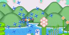 Super Fantasy Zone Genesis Screenshot