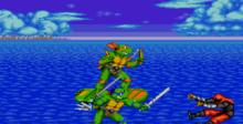 Teenage Mutant Ninja Turtles - Return of the Shredder Genesis Screenshot