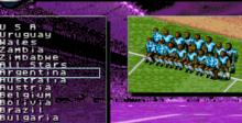 Total Football Genesis Screenshot