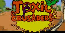 Toxic Crusaders Genesis Screenshot