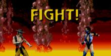 Ultimate Mortal Kombat 3 Genesis Screenshot