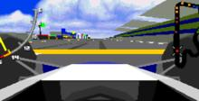 Virtua Racing Deluxe 32X Genesis Screenshot